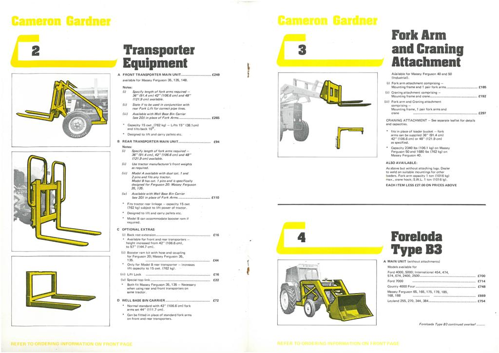 3 page brochure